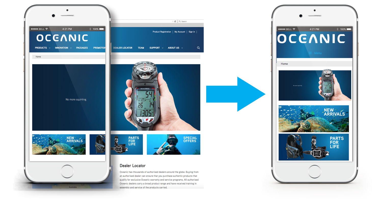 Mobile friendly websites by Red Monkey Apps